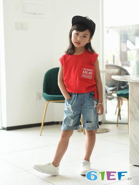 BennyJenny童装品牌2019春夏时髦打底衫儿童潮装洋气上衣