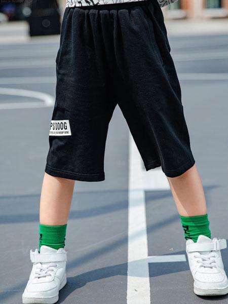 图零钱 TUTU Tips童装品牌2019春夏韩版沙滩休闲裤子运动宽松中裤