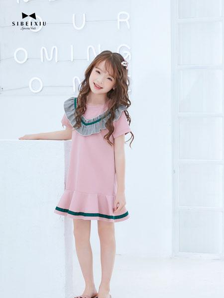 �D零�X TUTU Tips童�b品牌2019春夏中大�和���松�棉�n版�B衣裙