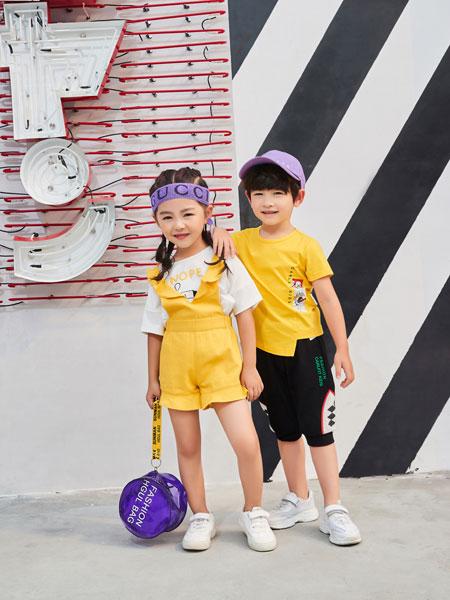 河南卡儿菲特童装品牌2019春夏韩版体恤洋气上衣