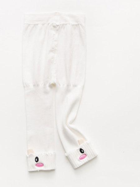 小小羊驼婴童用品2019春夏全棉婴童九分裤袜 双开档宝宝打底裤袜