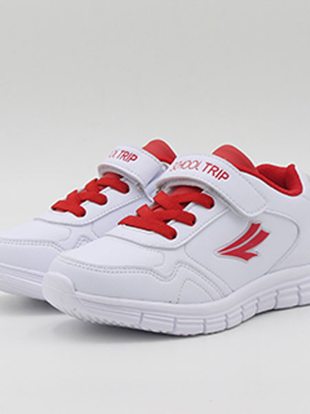 校园行童鞋品牌2019春夏儿童学生鞋魔术贴慢跑鞋