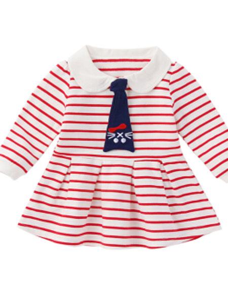 杰里贝比童装品牌2019春夏长袖t恤儿童纯棉