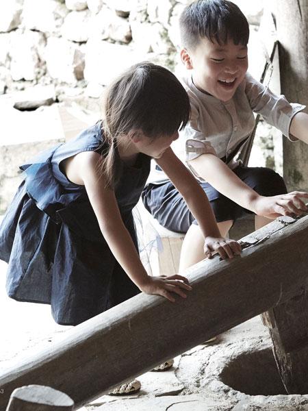 森虎儿童装品牌倡导绿色、环保、健康的经营理念
