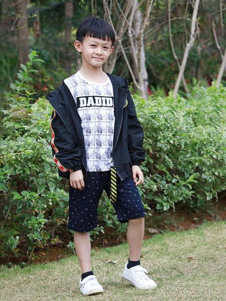 木言汀童装品牌2019春夏风衣夹克开衫棒球服外套