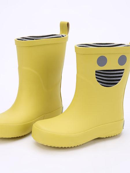 DONSJE童鞋品牌2019春夏笑脸雨靴 动物雨靴 童鞋防水雨鞋