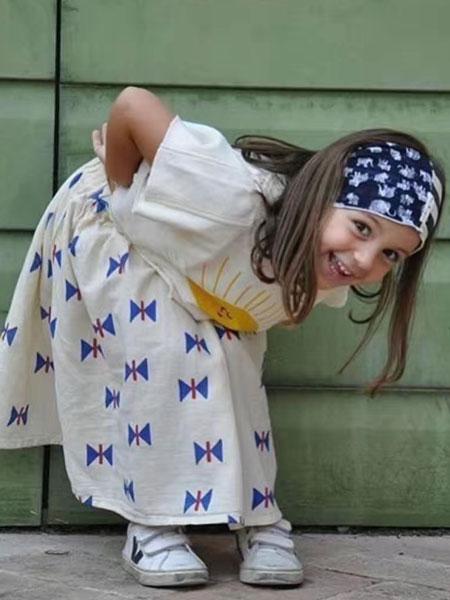 PINKROSE粉玫瑰童装品牌2019春夏印花休闲上衣半身裙