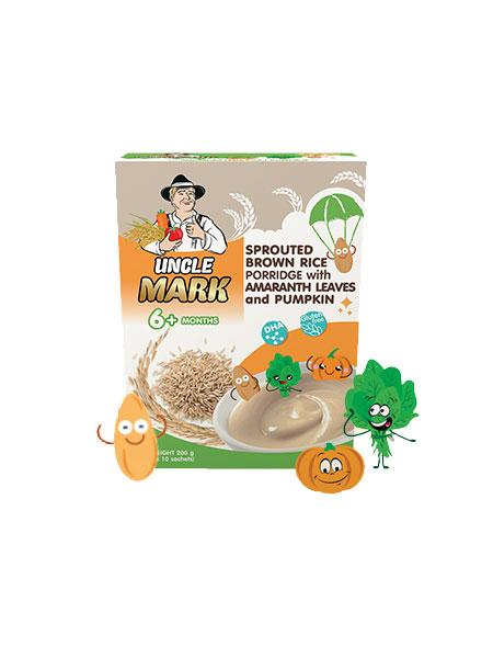 米克叔叔茉莉香糙米粉(苋菜+南瓜+DHA强化)