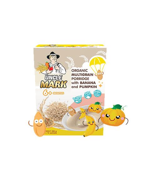 米克叔叔茉莉香糙米混合谷物米粉(藜麦+香蕉+南瓜)