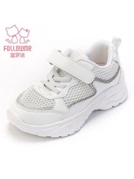 富罗迷童装品牌2019春夏透气鞋子韩版女童运动鞋