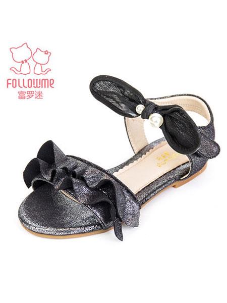 富罗迷童装品牌2019春夏公主鞋冰雪奇缘儿童小皮鞋迪士尼