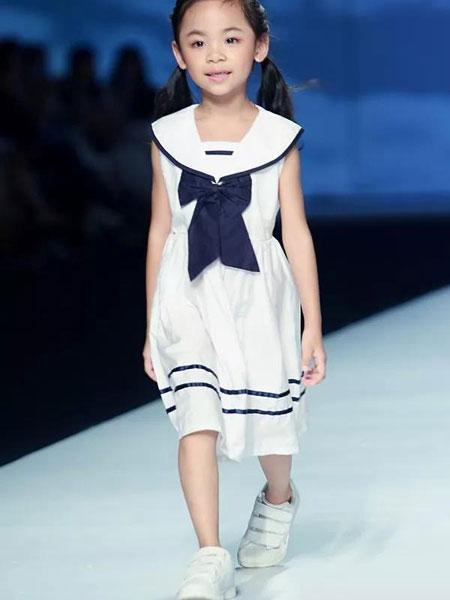 朵朵公主童装品牌2019春夏连衣裙气质公主裙中大童
