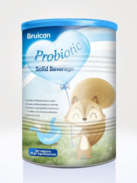 倍瑞可Bruican婴儿食品2019益生菌固体饮料