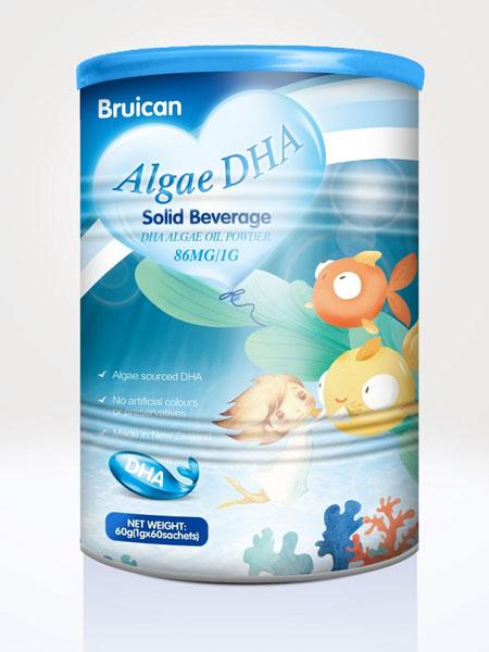 倍瑞可Bruican婴儿食品2019海藻DHA固体饮料
