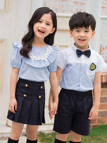 哈利欧童装品牌2019春夏英伦套装新款幼儿童装