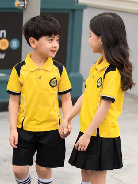 哈利欧童装品牌2019春夏幼儿园园服小学生班服运动服