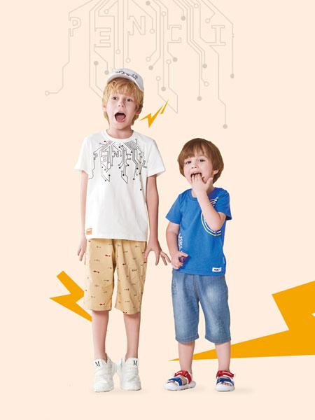 铅笔俱乐部童装品牌2019春夏针织短袖T恤衫上衣