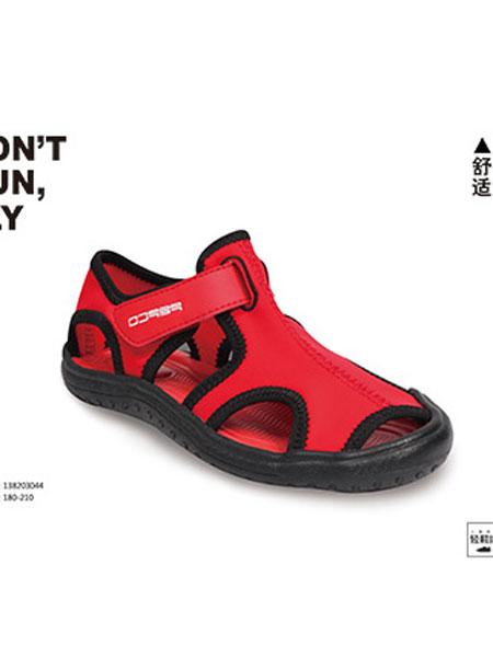 小猪班纳童鞋品牌2019春季包头沙滩鞋