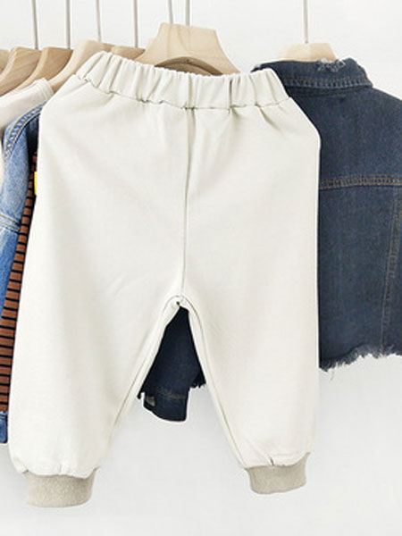 米纯童装品牌2019春夏柔软型裤子裤 男童长裤儿童裤子