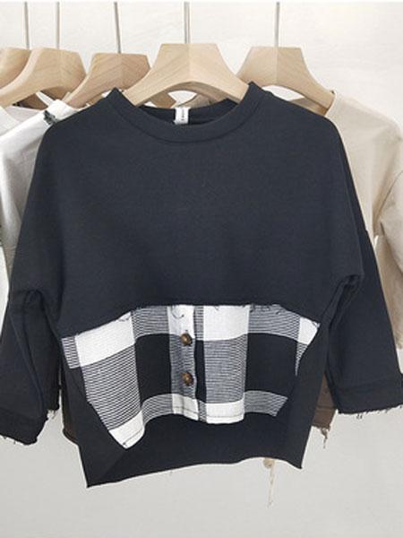 SMBY童装品牌2019春夏T恤新款打底衫