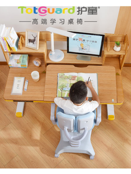 中小学生课桌椅换接,找护童学习桌椅儿童家具