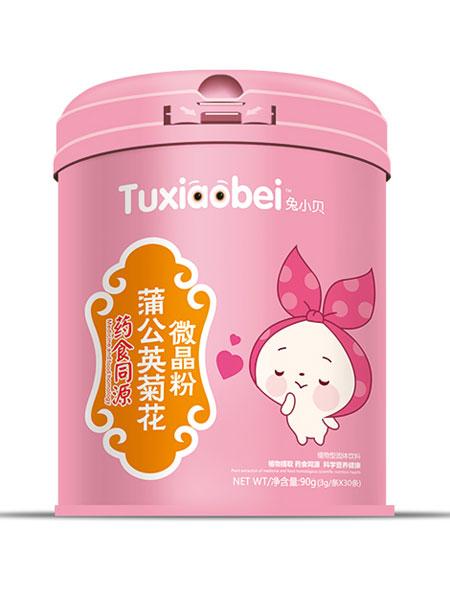 兔小贝婴儿食品蒲公英菊花微晶粉