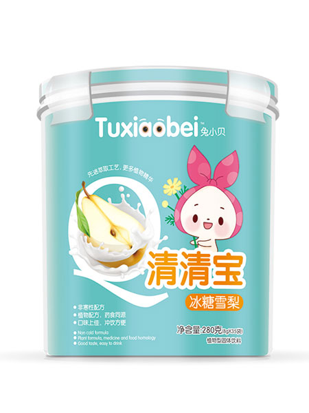 兔小贝婴儿食品冰糖雪梨清清宝