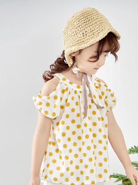 爱尚哆哆咪童装品牌2019春夏韩版中大童洋气时髦短袖两件套