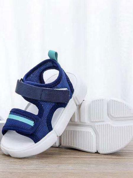 哈休童鞋品牌2019春夏软底透气防滑凉鞋学步鞋