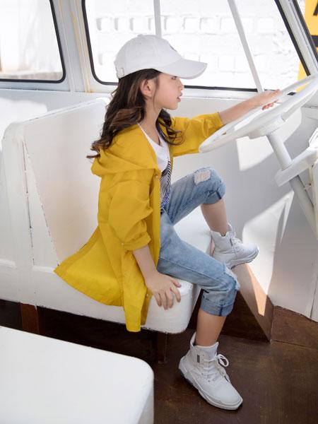 韩米娜风尚童装品牌2019春夏仙女防晒衫薄外套