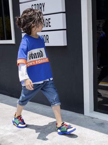 韩米娜风尚童装品牌招商,强调整体搭配