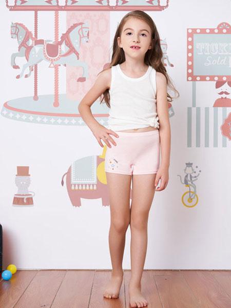都市丽人童装品牌2019春夏内裤眯雅佳女童内裤