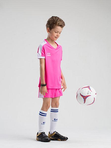 路克士童装品牌2019春夏印号学生运动比赛球服