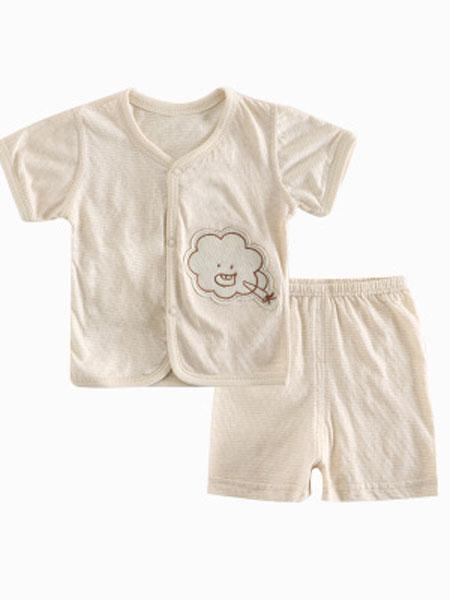 婴婴衣派童装品牌2019春夏纯棉内衣套装
