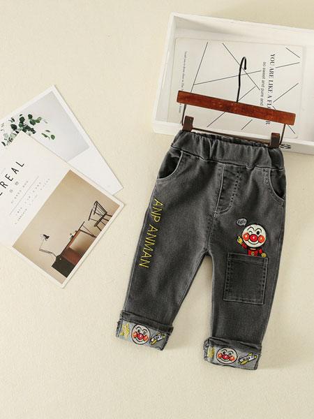 叙素童装品牌2019春夏可爱卡通儿童休闲裤