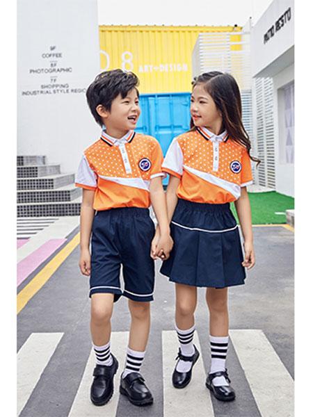 童心飞扬童装品牌2019春夏学生校服幼儿园园服