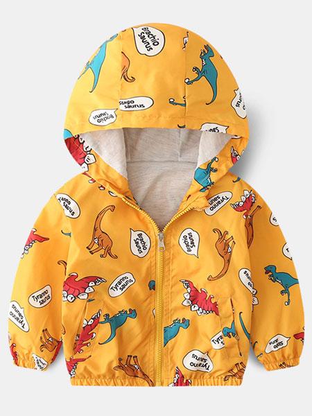 保护伞童装品牌2019春夏冲锋衣外套