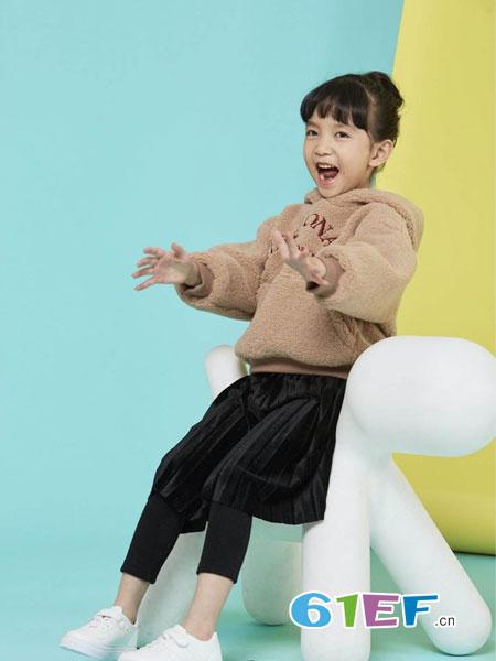 美式童装童装品牌2019春季长袖套头保暖百搭新品