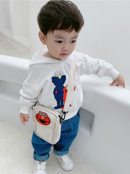 honey baby kids童装品牌2019春夏时尚连帽卫衣套头衫