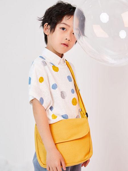 DC童装童装品牌2019春夏圆点短袖衬衫