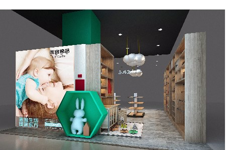 L.YCotton【两宜】品牌商场专卖店形象