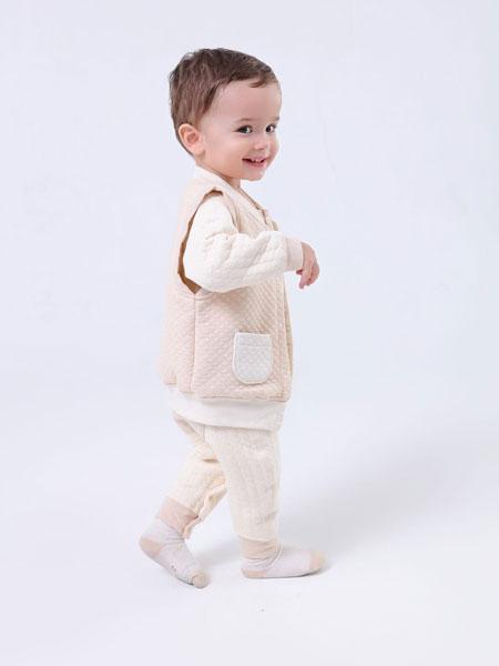 璎璎芽童装品牌2019春季羊羔绒外穿保暖坎肩