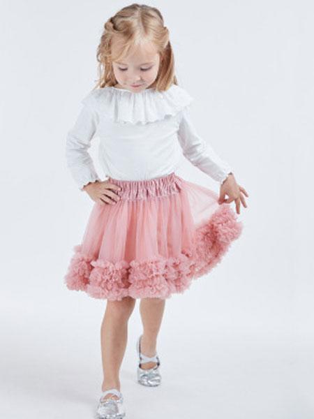 聆风童装品牌2019春季儿童蓬蓬裙tutu童裙