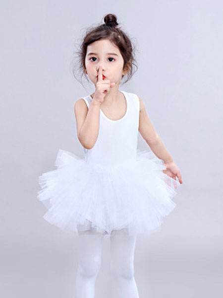 聆风童装品牌2019春季芭蕾舞裙