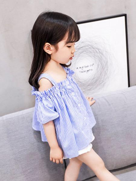 马李童装品牌2019春夏韩版ins潮款童背心女童吊带