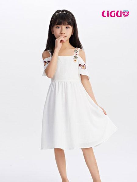 嘉赫蓥童装品牌2019春夏时尚吊带连衣裙