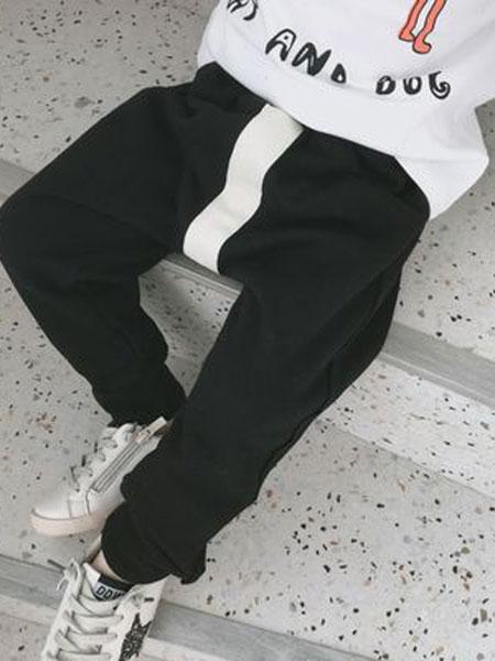 番茄土豆童装品牌2019春夏休闲运动长裤