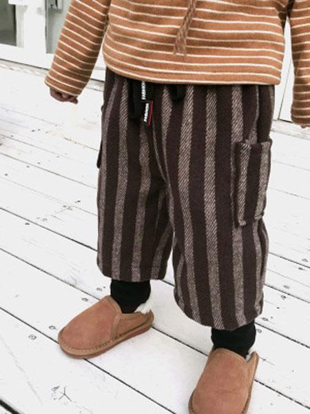 嘻哈猴童装品牌2019春夏假两件童裤