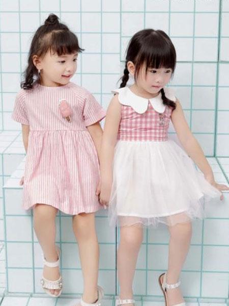 巴迪小虎园服童装品牌2019春夏时尚休闲连衣裙