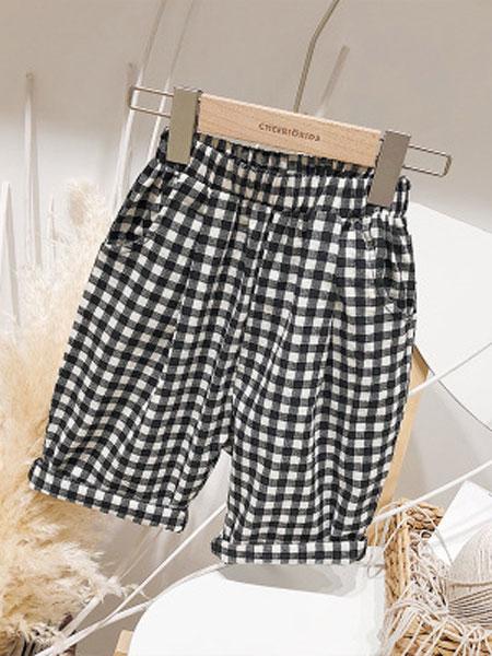 CHEERIO KIDS童装品牌2019春夏儿童格子裤